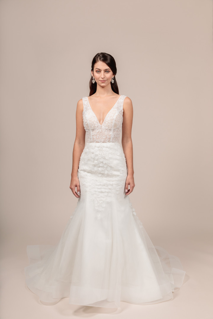 Angel Rivera bridal gown Eternity front