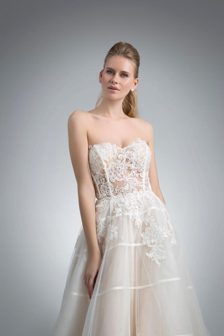 Angel Rivera Bridal Gown Kelsea front detail