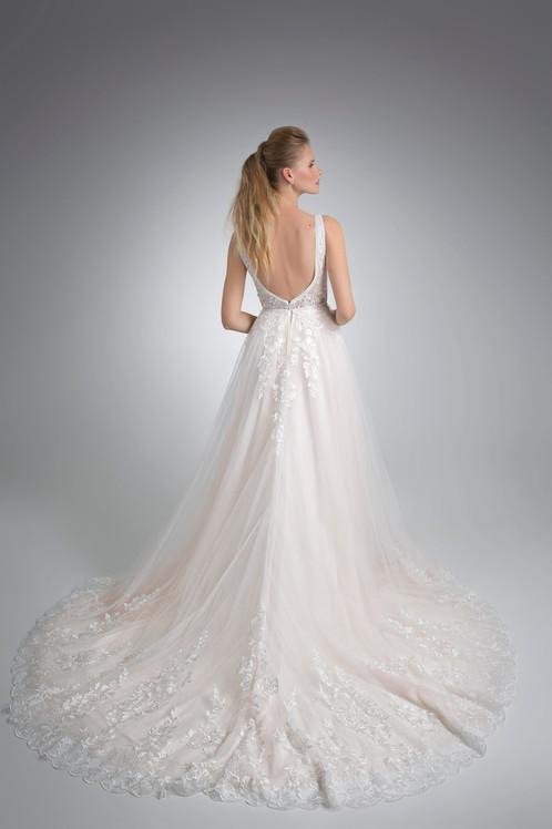 Angel Rivera Bridal Gown Senora Back