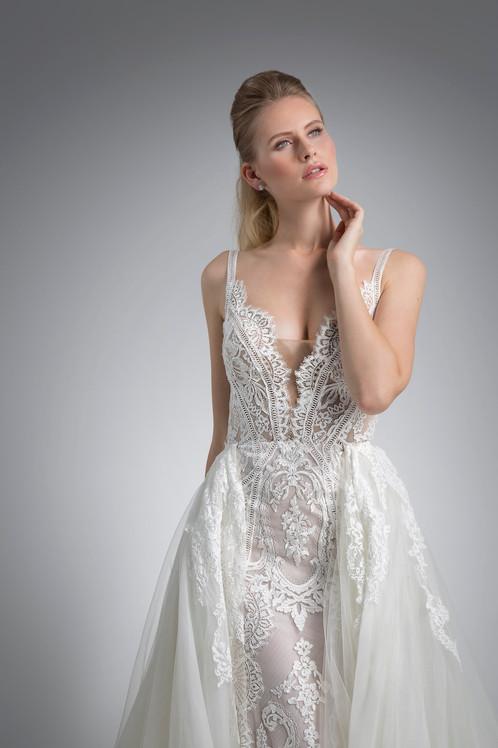Angel Rivera Bridal Gown Vivi Detail Front