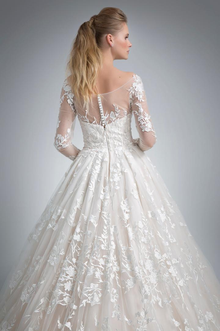 Angel Rivera Bridal Gown Cianna Back detail