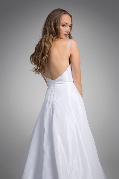Flores Collection by Angel Rivera Bridal Gown Penelope back detail