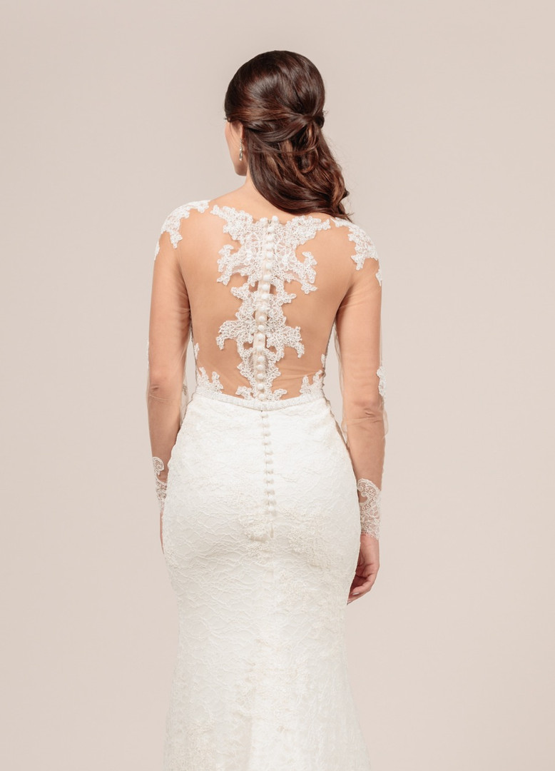 Angel Rivera Bridal Gown Perfection Back detail