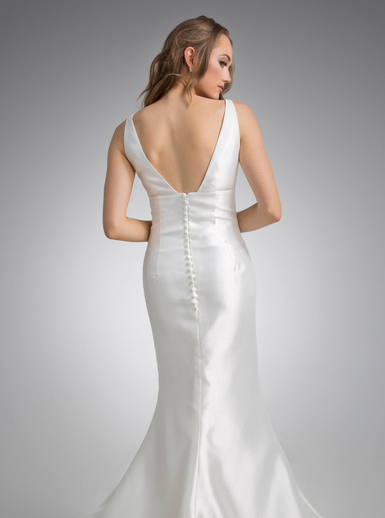 Flores Collection by Angel Rivera Bridal Gown Anne Back Detail