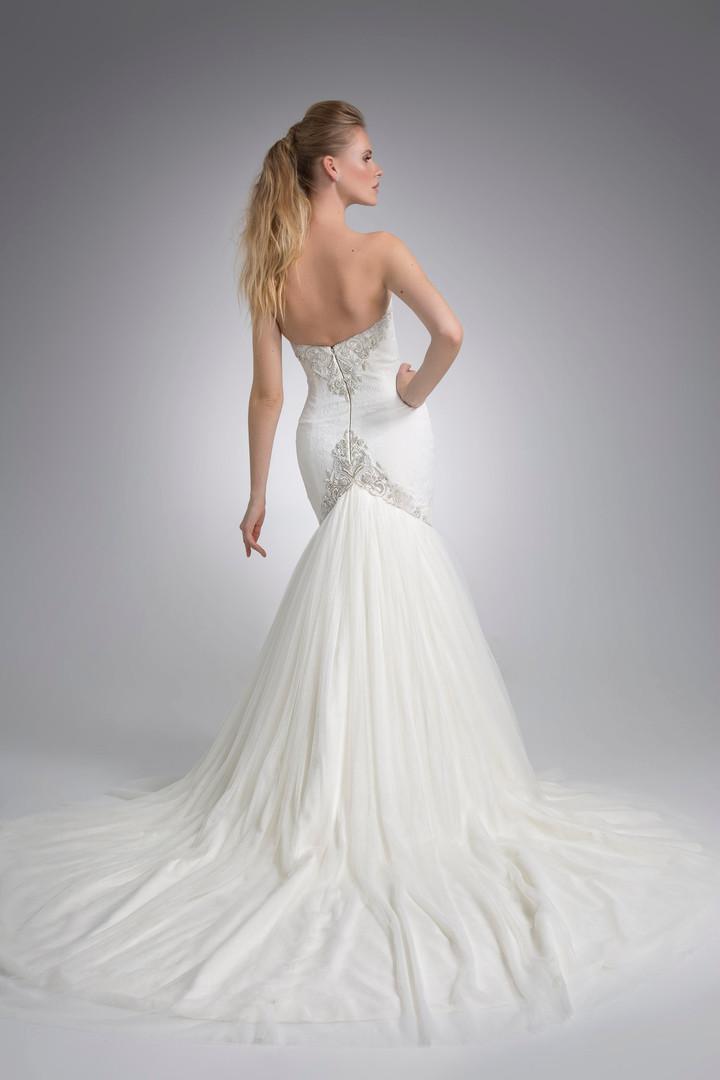 Angel Rivera Bridal Gown Gisselle Back