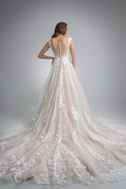 Flores Collection by Angel Rivera Bridal Gown Carolina Back