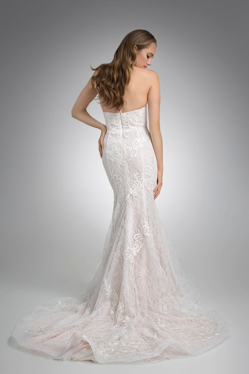 Flores Collection by Angel Rivera Bridal Gown Max Back
