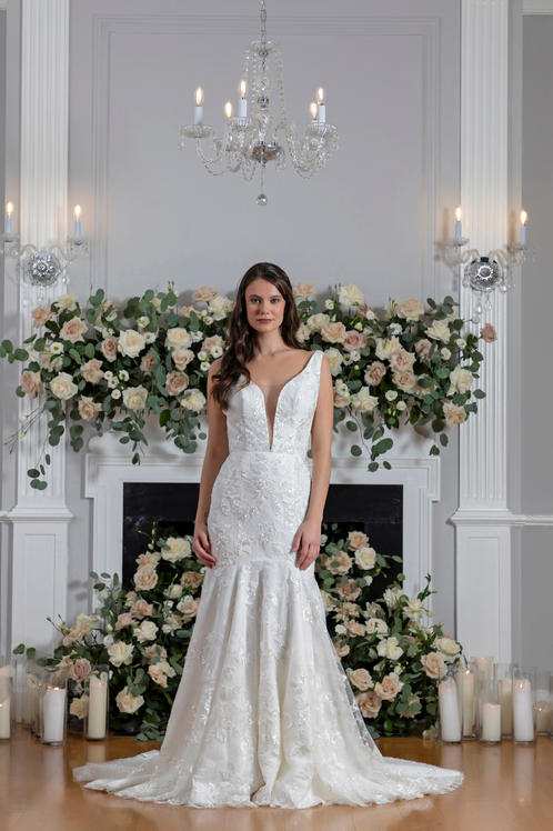 I Do Bridal gown Front