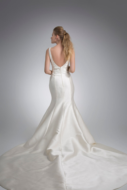 Angel Rivera Bailey Gown Back