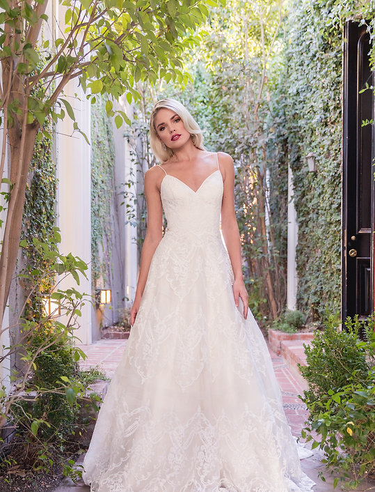 Flores Collecton by Angel Rivera bridal collection