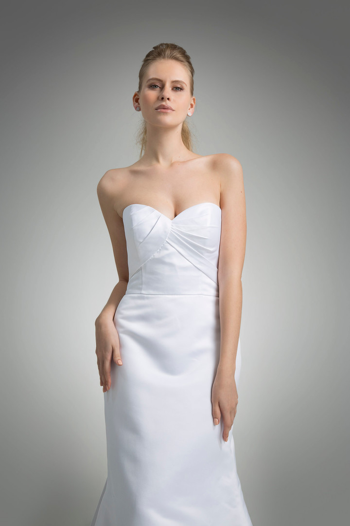 Angel Rivera Bridal Gown Marni Front Detail