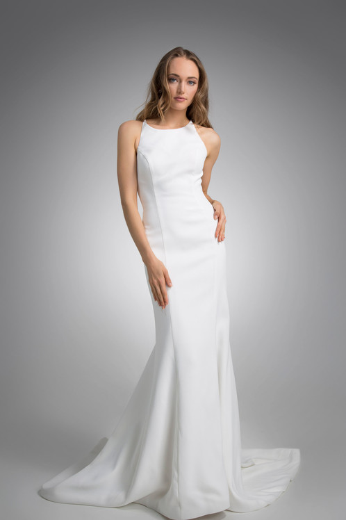 Flores Collection by Angel Rivera Bridal Gown Michelle front full