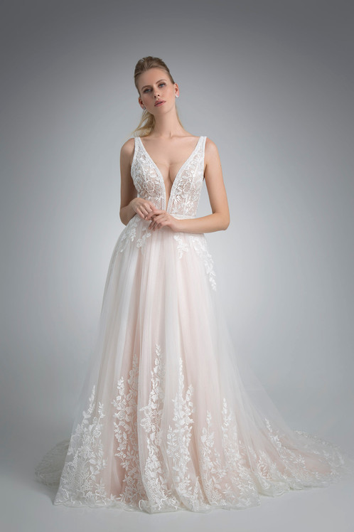 Angel Rivera Bridal Gown Senora Front