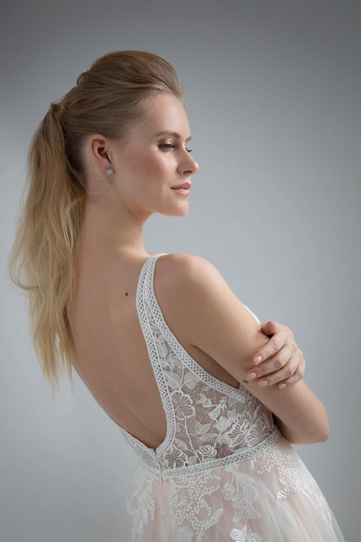 Angel Rivera Bridal Gown Senora Back detail