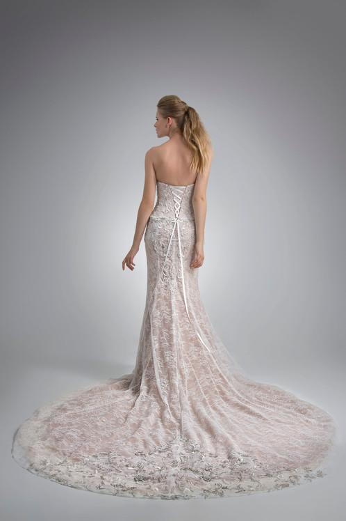 Angel Rivera Bridal Gown Orabelle Back