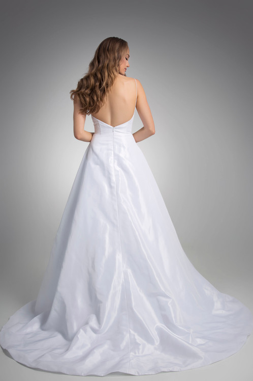 Flores Collection by Angel Rivera Bridal Gown Penelope back