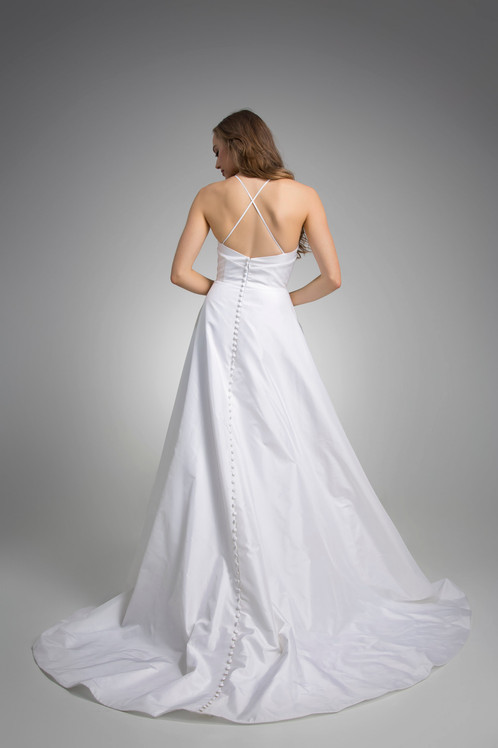 Flores Collection by Angel Rivera Bridal Gown Haven Back