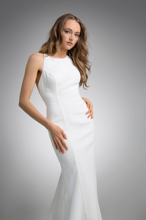 Flores Collection by Angel Rivera Bridal Gown Michelle front detail