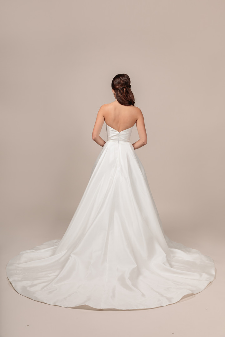 Angel Rivera bridal gown Royalty back