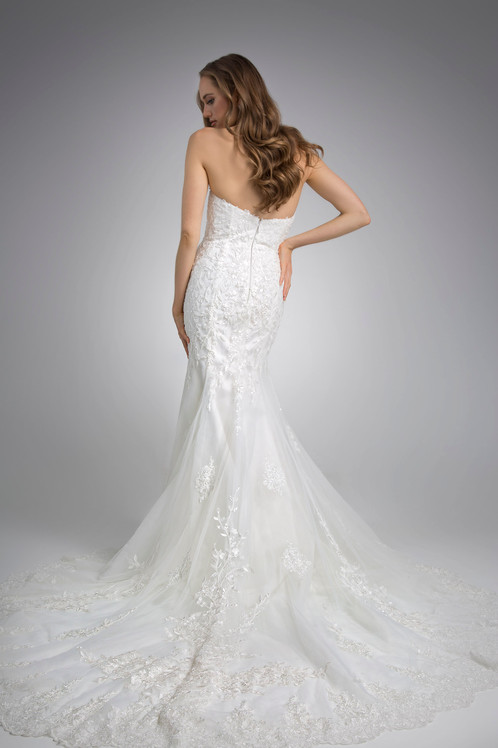 Flores Collection by Angel Rivera Alisha back Bridal gown