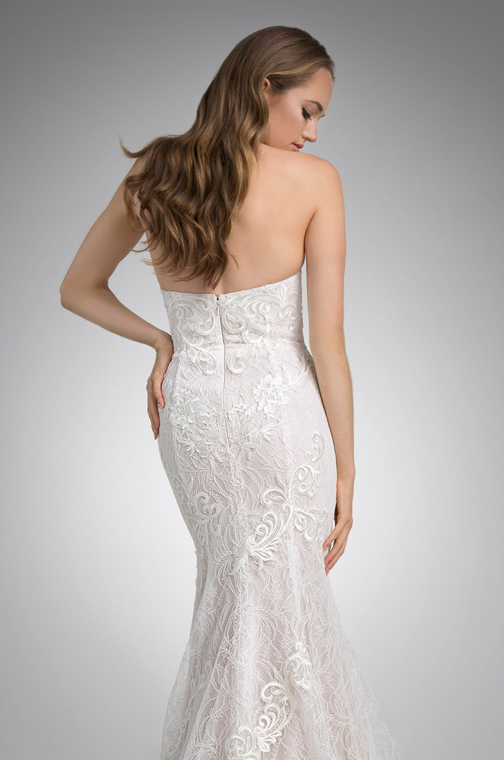 Flores Collection by Angel Rivera Bridal Gown Max Back Detail