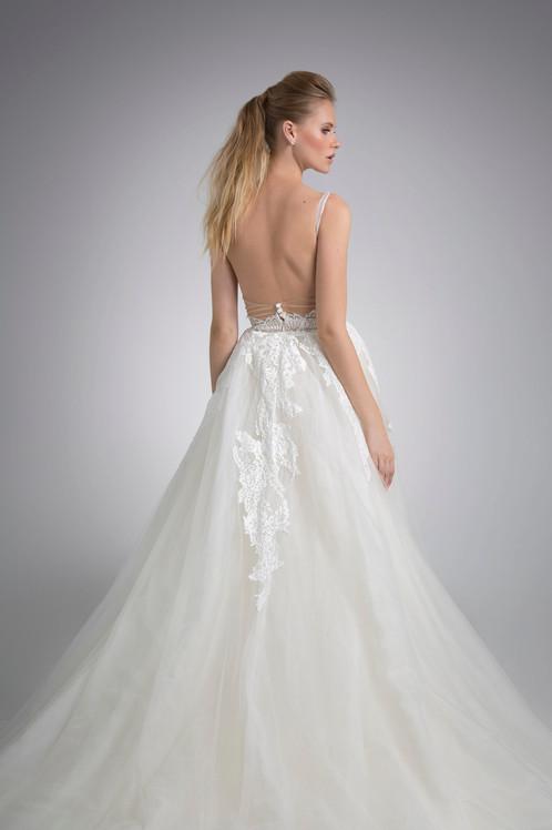 Angel Rivera Bridal Gown Vivi with detachable train
