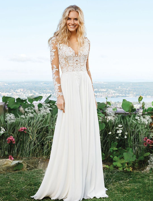 Lillian West bridal collection