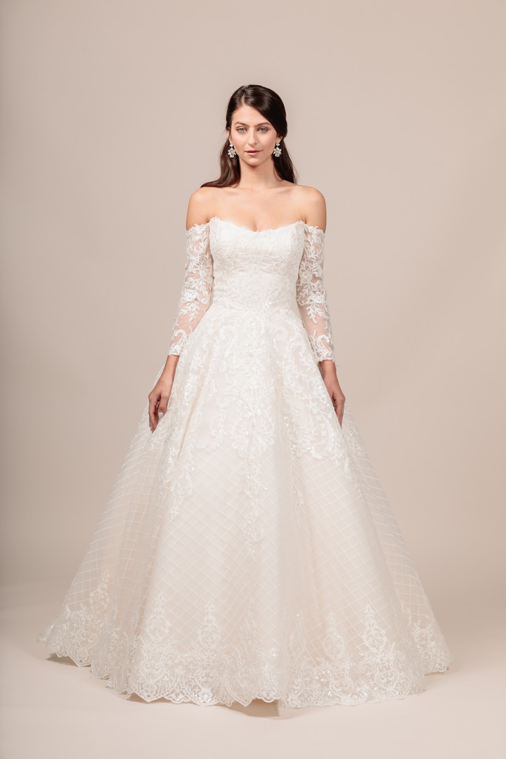 Angel Rivera bridal gown Gorgeous front