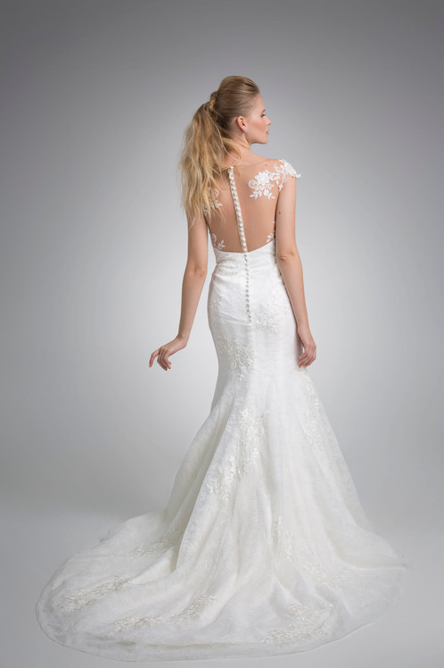 Angel Rivera Bridal Gown Ariana with out detachable train