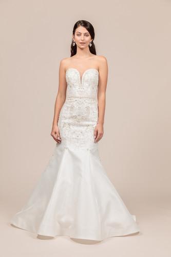 Angel Rivera bridal gown Opulent front