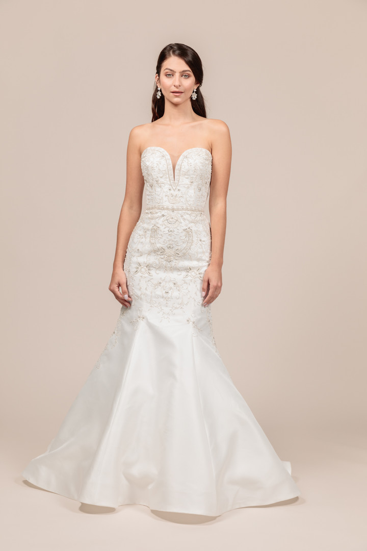 Angel Rivera bridal gown Opulent front