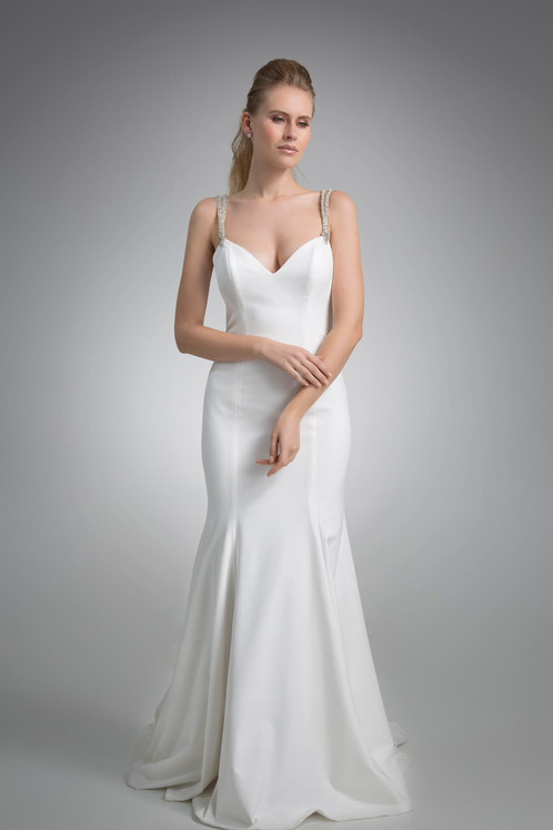 Angel Rivera Hunter Gown Front