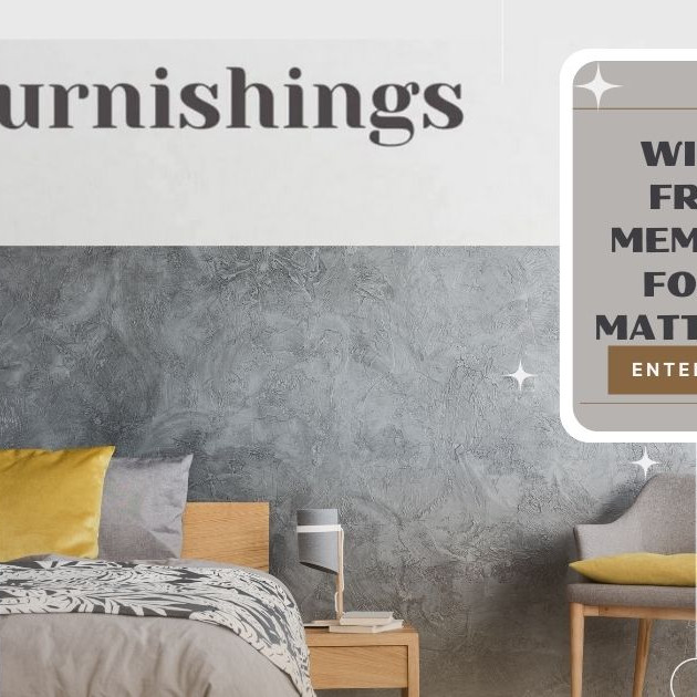October Giveaway - FREE Memory Foam Mattress