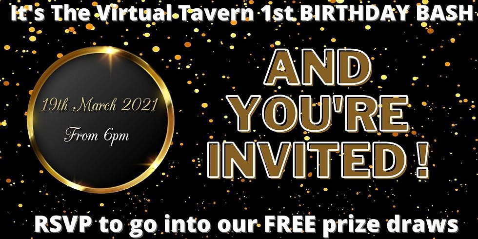 The Virtual Tavern 1st Birthday Bash