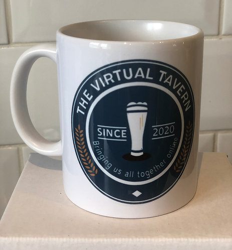 Virtual Tavern Mug (Double Sided)