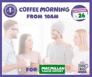 ☕️ Macmillan Coffee Morning 🧁