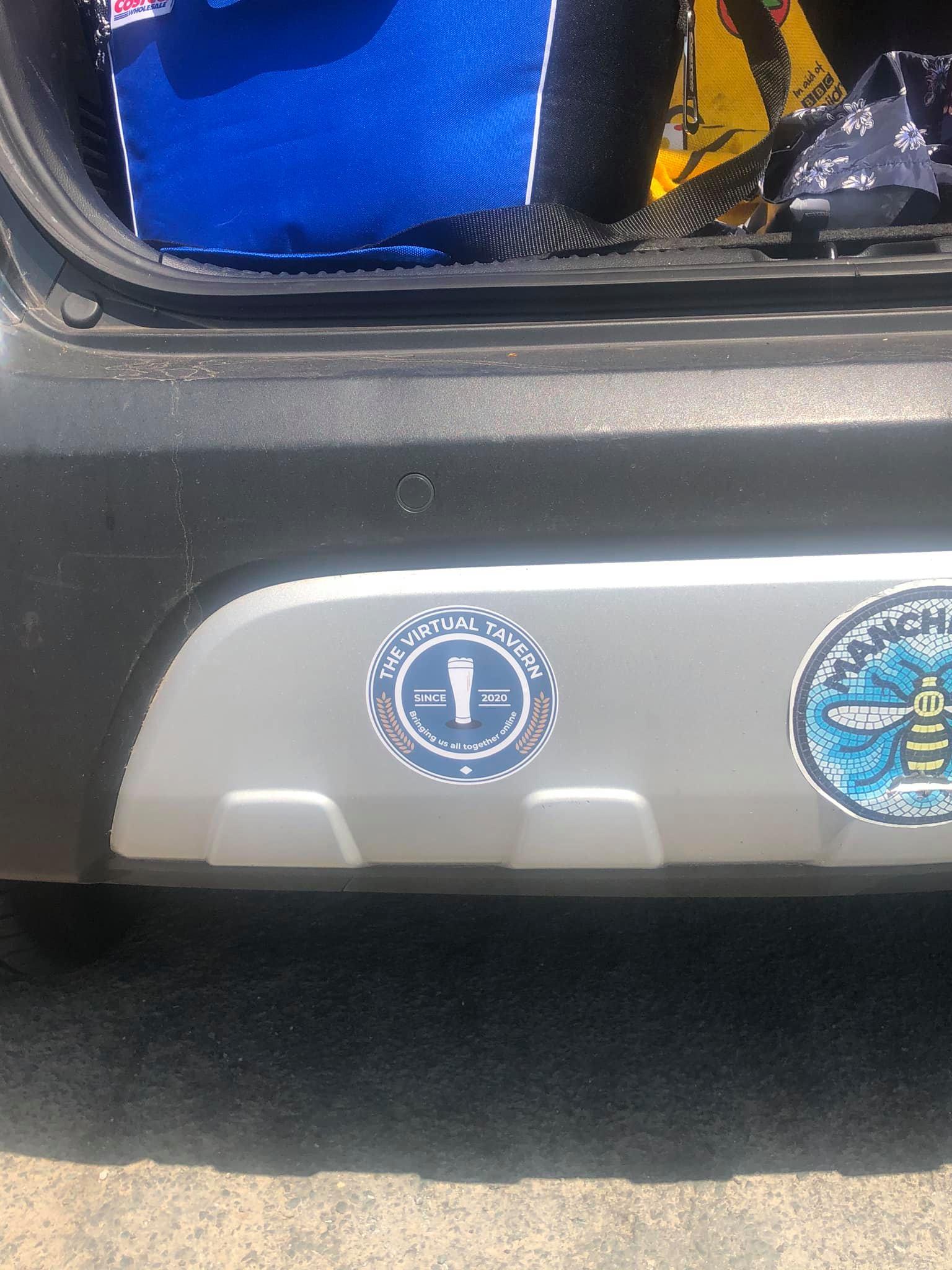 Ŵhïtëhæd H Błü's Bumper Sticker