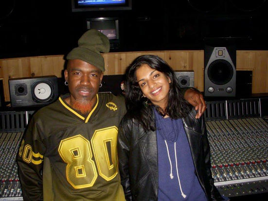 Neal and M.I.A.