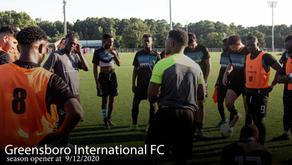 Greensboro International FC Open Season Facing Division Champion Soda City FC
