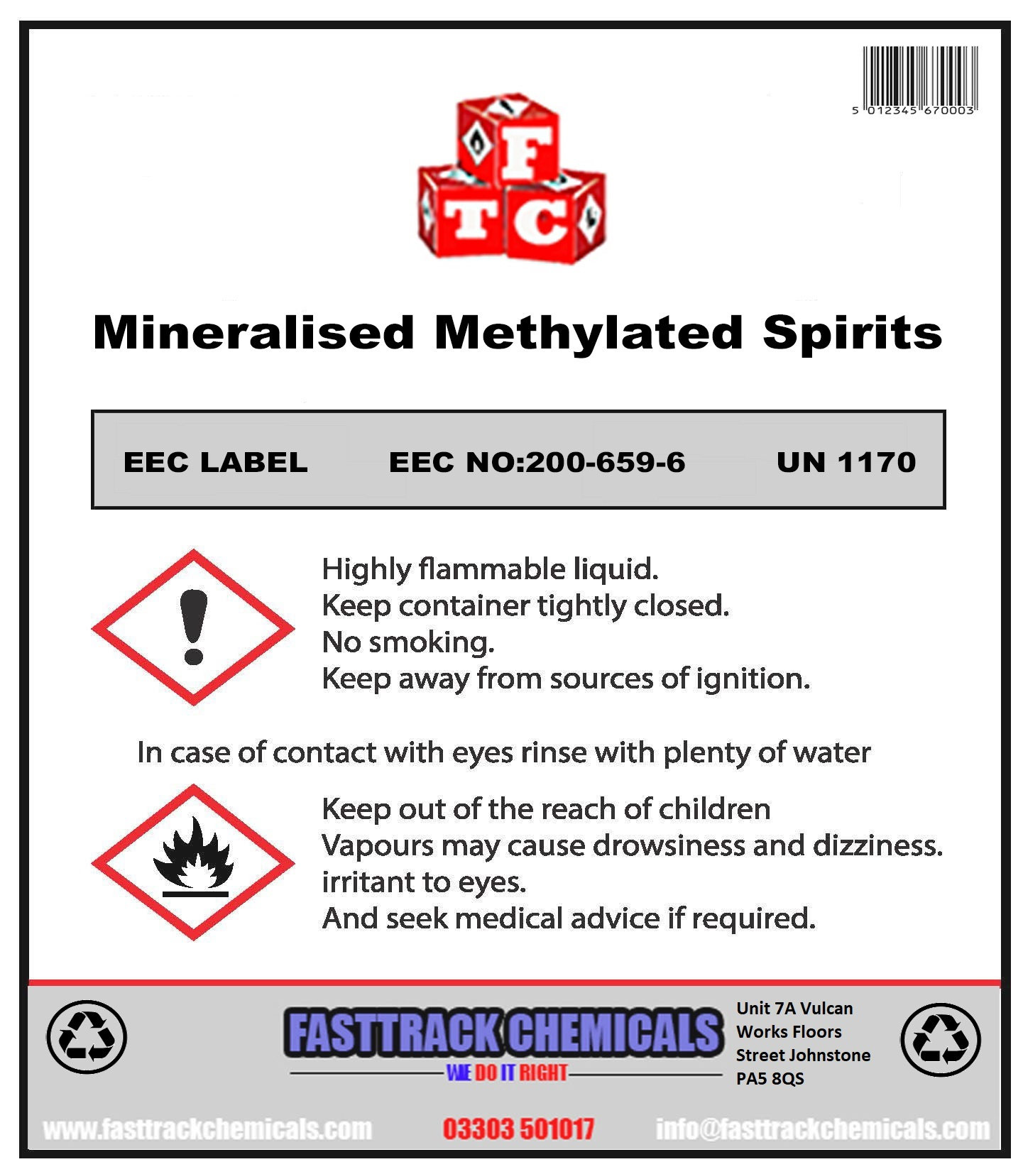 ⭐Methylated Spirits 94% MMS (Purple)⭐ | fasttrackchemicals