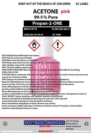 ⭐️Pink Acetone 99.8% Nail Polish Remover⭐️