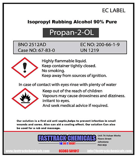 ⭐️ISOPROPYL RUBBING ALCOHOL 90% MULTIPURPOSE USES FIRST AID ANTISEPTIC⭐️