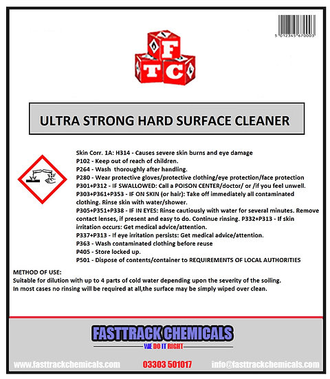 ⭐️Ultra Strong Hard Surface Cleaner⭐️