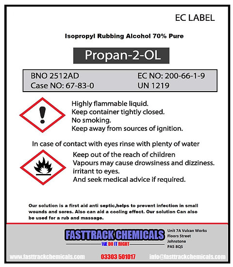 ⭐️ISOPROPYL RUBBING ALCOHOL 70% MULTIPURPOSE USES FIRST AID ANTISEPTIC⭐️