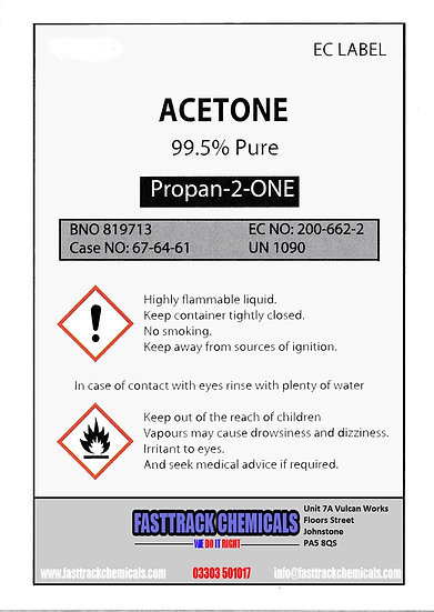 ⭐️ Acetone 99.5% Nail Polish Remover⭐️