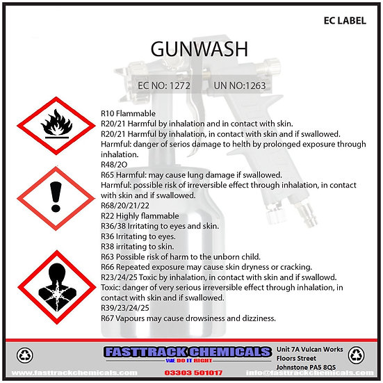⭐️Standard Cellulose Thinners / Gun Wash Parts Cleaner⭐️
