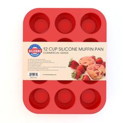 Silicone Muffin Pan & Cupcake Makerg