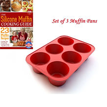 Texas Muffin Pan, Set of 3, v02 Muffin e