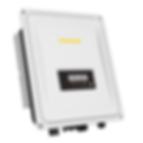 White solar inverter showing yellow Zeversolar logo