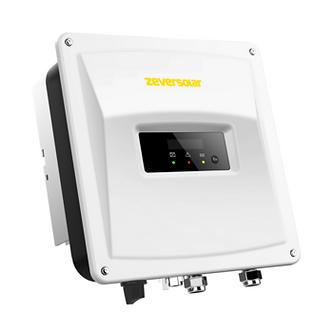 Zeversolar white solar inverter with Zeversolar logo